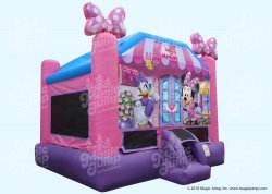 Minnie Mouse Bounce House 15