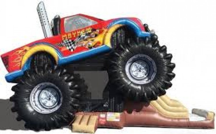 Mega Monster Truck 3 in 1 Combo